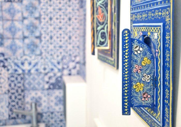 Relooking WC : inspiration Lisboa