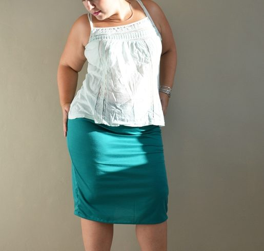 La jupe droite (grossesse)