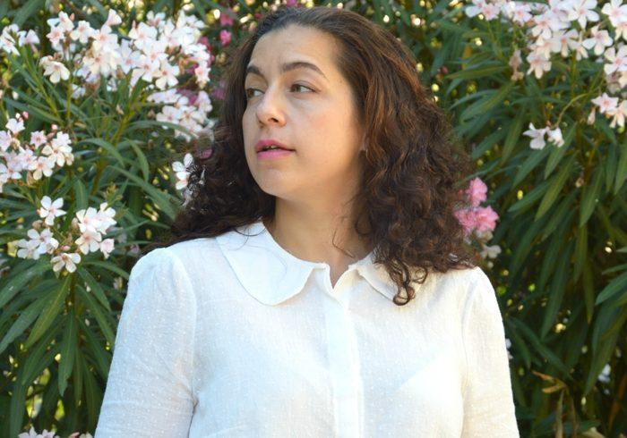 Considérations (méta)physiques et blouse en plumetis