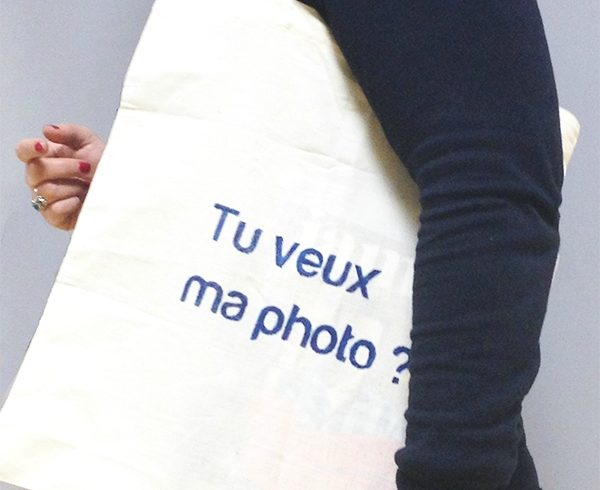 Le tote bag à message