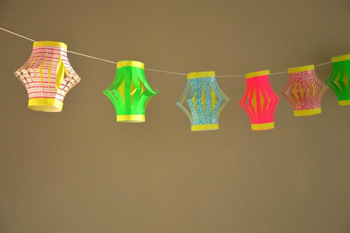 Lanternes en papier  : le tuto