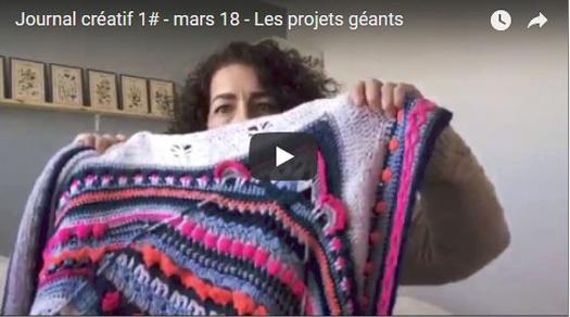 Le journal créatif vidéo : les projets géants