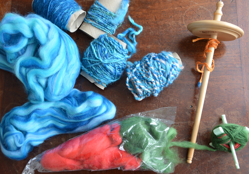 essai-filage-laine-fuseau