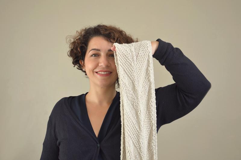 points texturés tricot