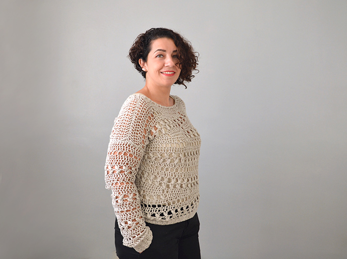 pull automne crochet