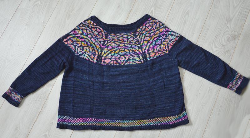 Le Pull Gaudi, tricot 100% Barcelone