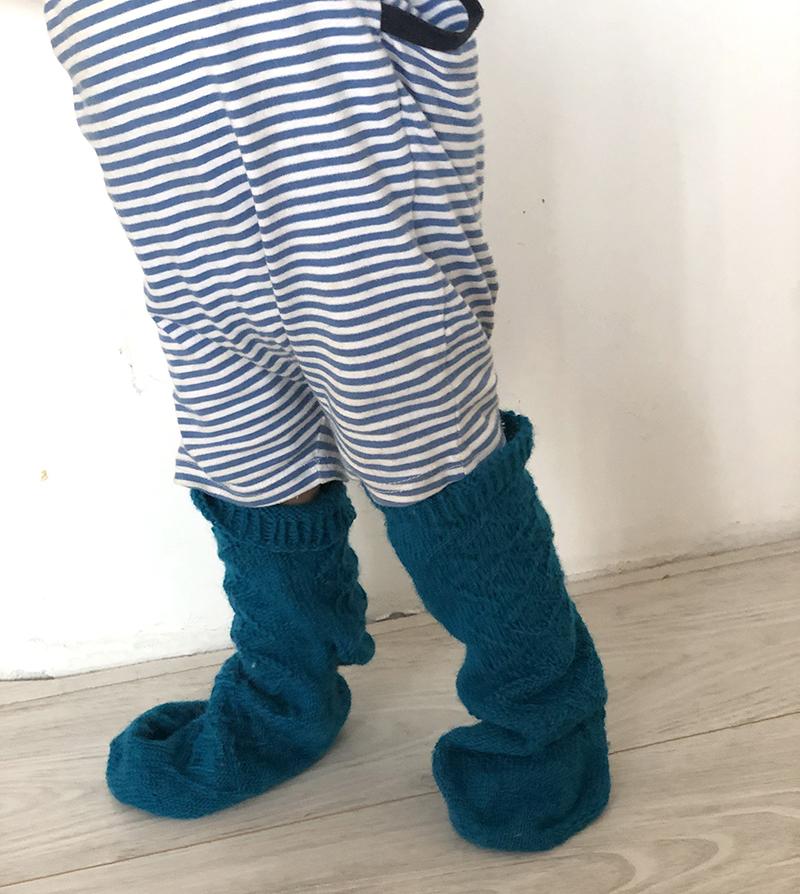 Chaussettes Taille 44 sur bébé