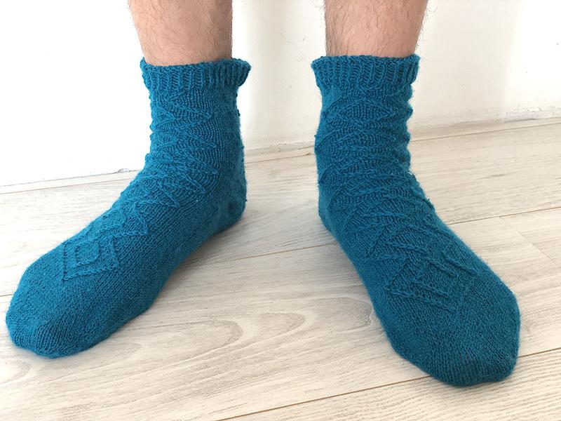 Chaussettes tricotées T''