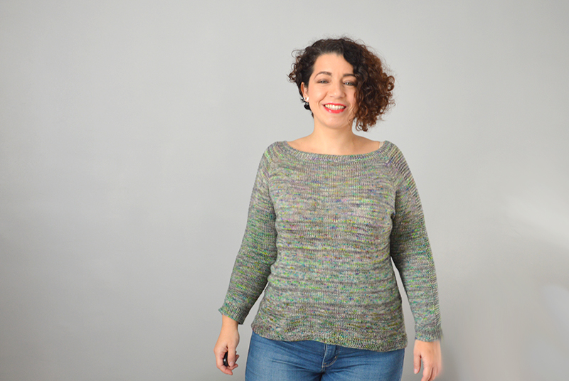 Le pull Flax light couleur Prismatic