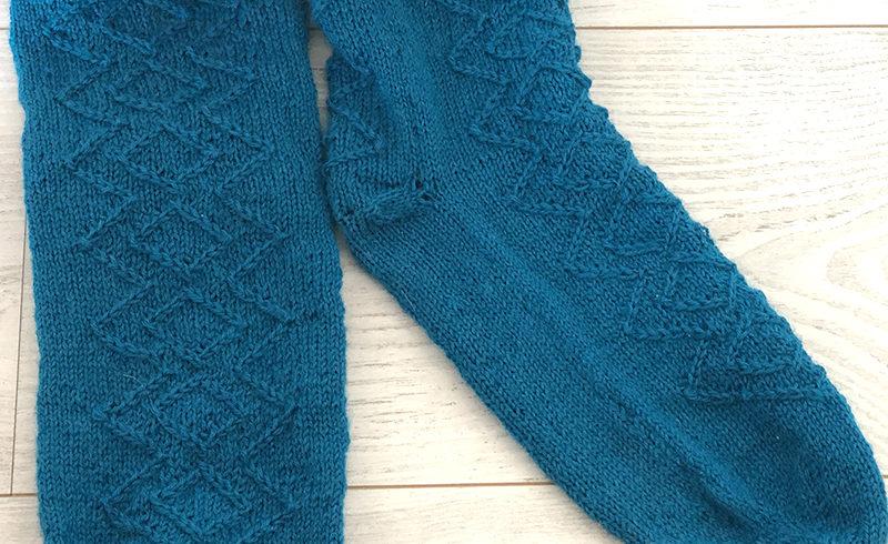 Les chaussettes tricotées T44 de Rémy Lupin