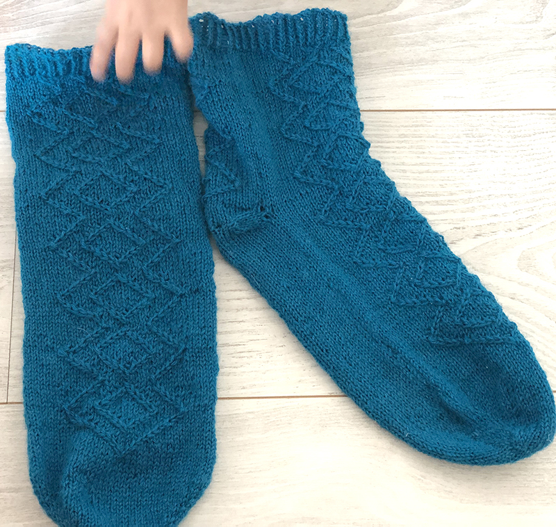 patron chaussettes Remus Lupin