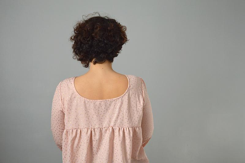 blouse panama rose e tdore