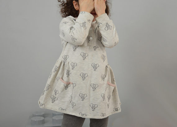 robe tetes elephants couture