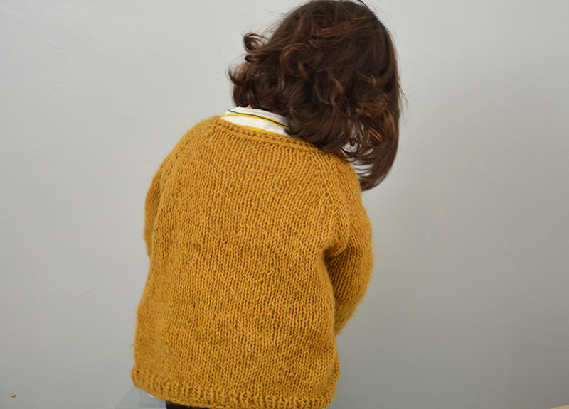 Patron pull tricot enfant