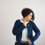 gilet monceau cropped