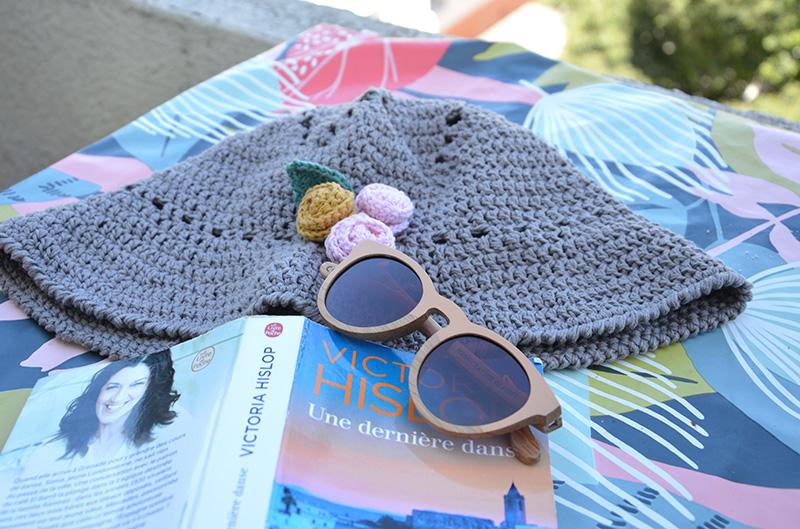 Un chapeau d'été au crochet