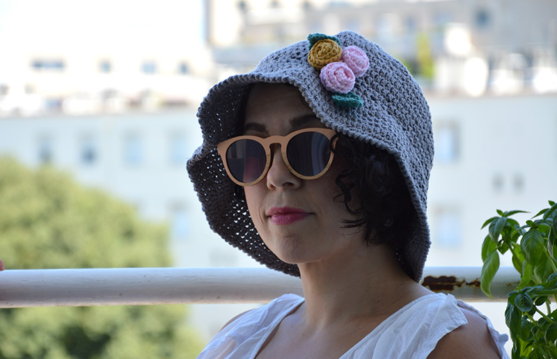 chapeau cloche crochet adulte