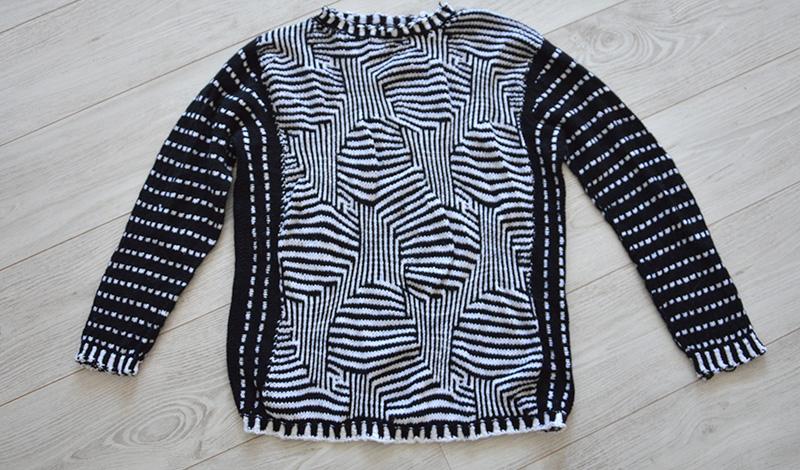 A Mazing pullover : magnifique mais…