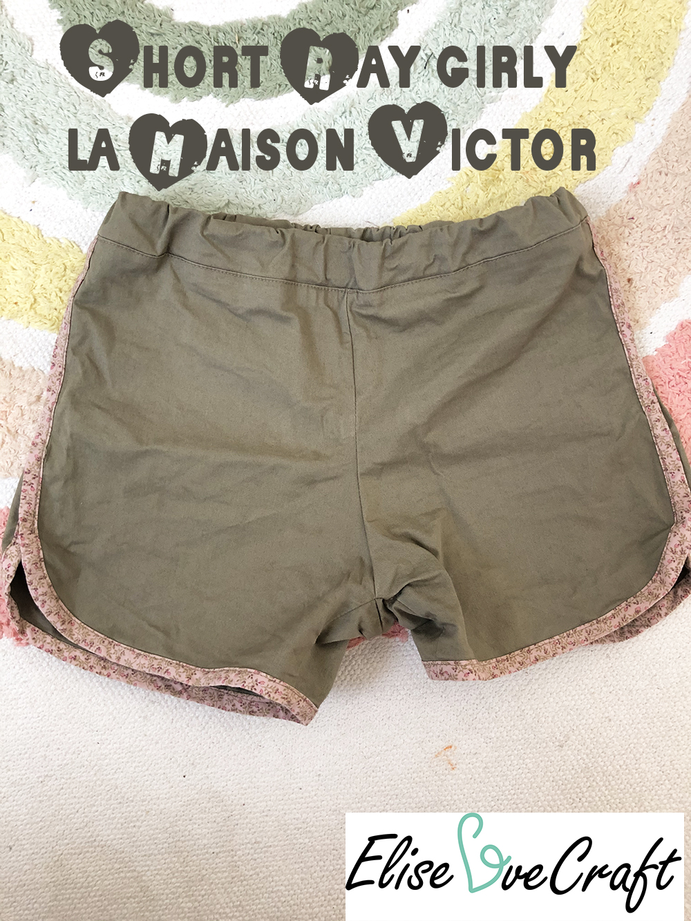 short Ray Maison Victor girly pin it