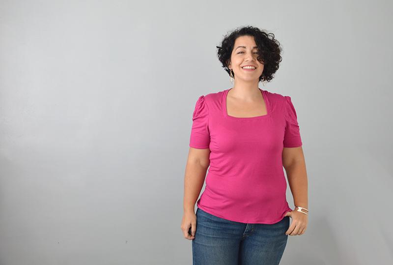 t-shirt Briac coudre le stretch