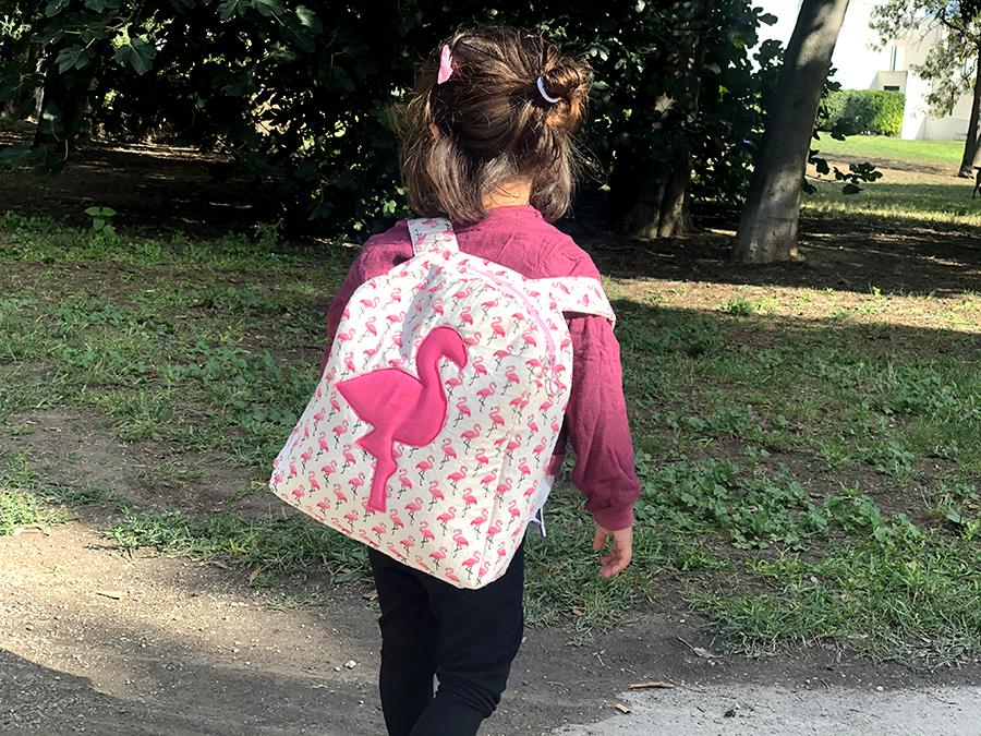 coudre sac à dos maternelle
