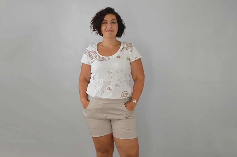 short Dressed beige