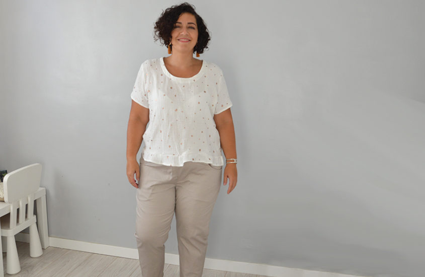 Ensemble 100% Dressed : Pantalon et blouse bureau compatibles