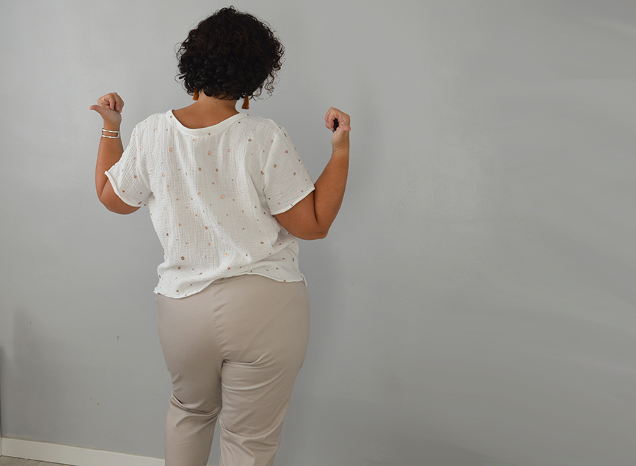 patrons blouse pantalon Dressed