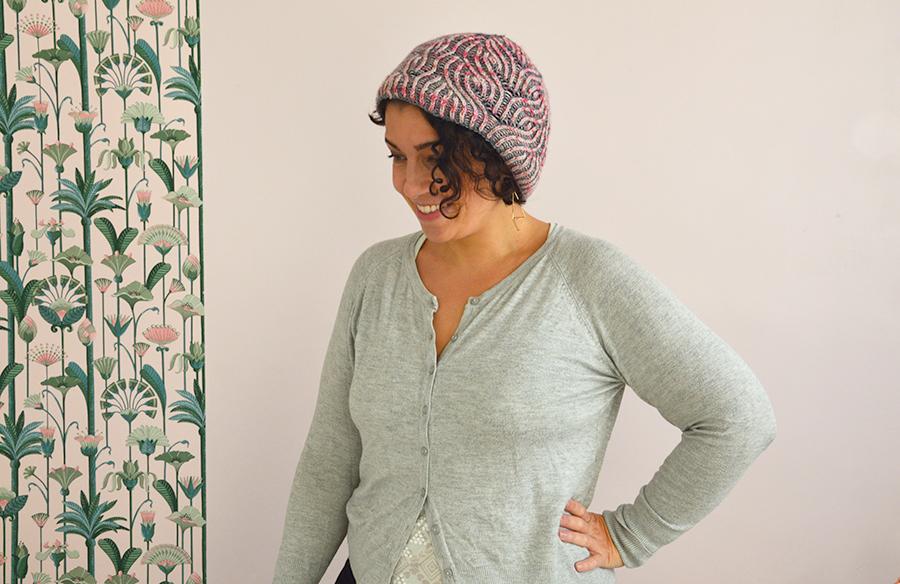tricot point brioche