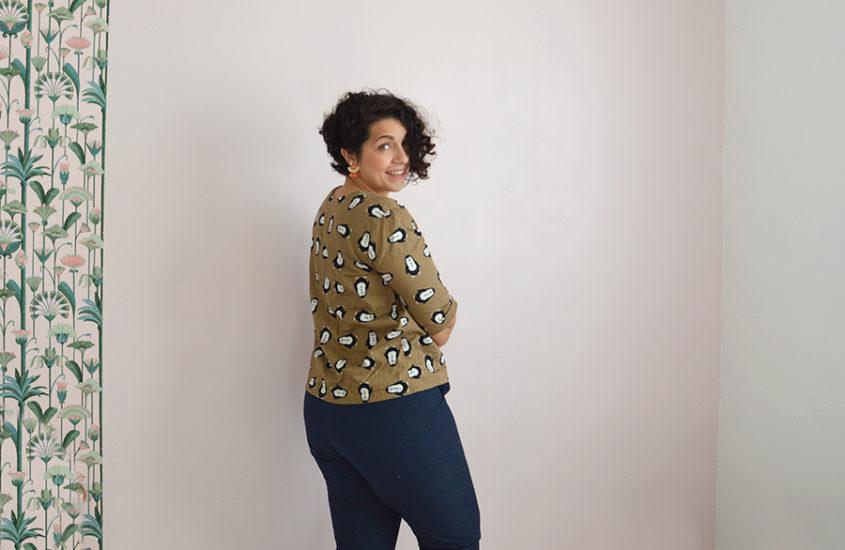 Chemisier Dressed et pantalon : une nouvelle tenue dans ma garde-robe d'hiver !