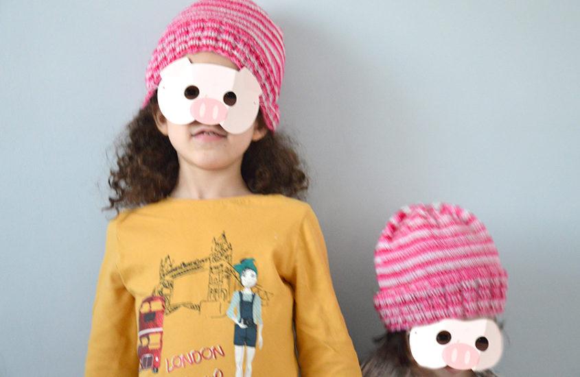Duo de Sockhead slouch hat : des bonnets rayés pour les filles