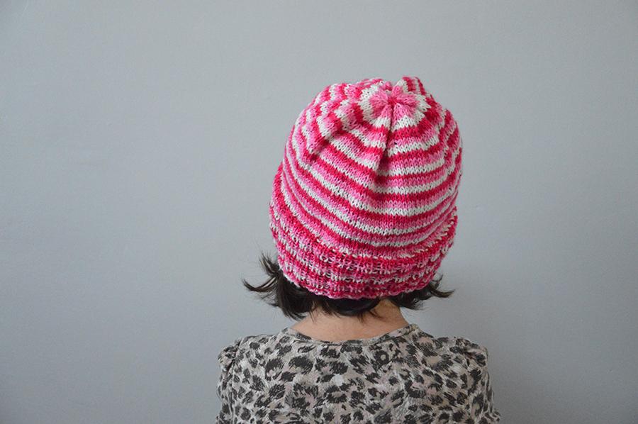 bonnet tricoté enfant
