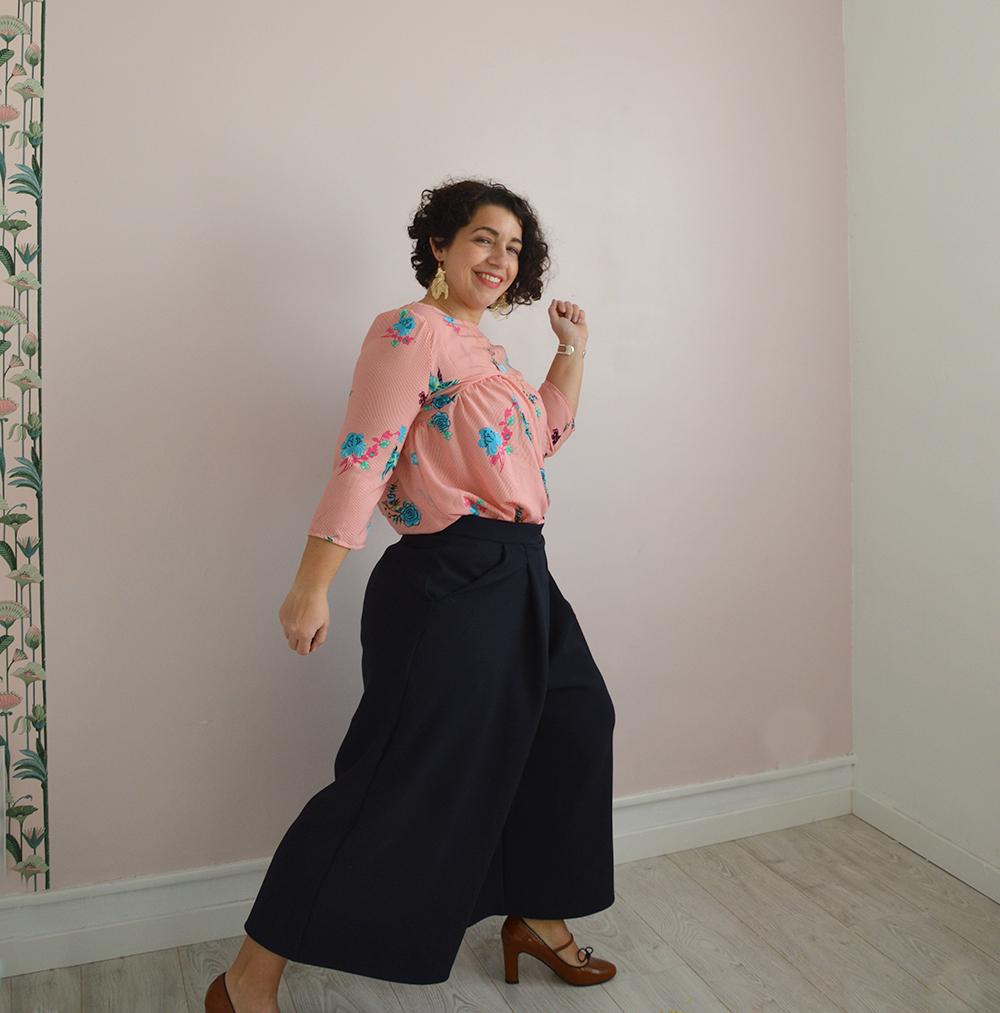jupe-culotte Dressed crêpe