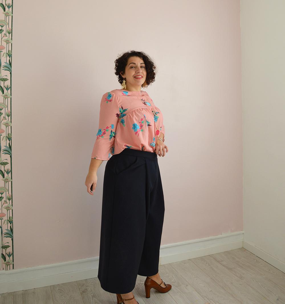 jupe-culotte Dressed tenue chic