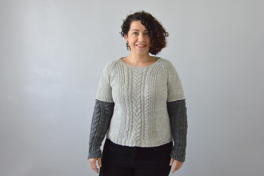 ajuster pull tricoté
