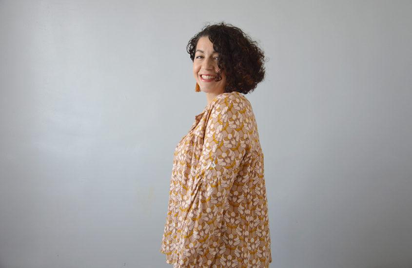 Ma blouse Camille très chouette !