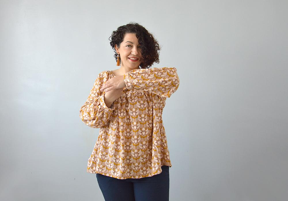 coudre blouse Chouette kit