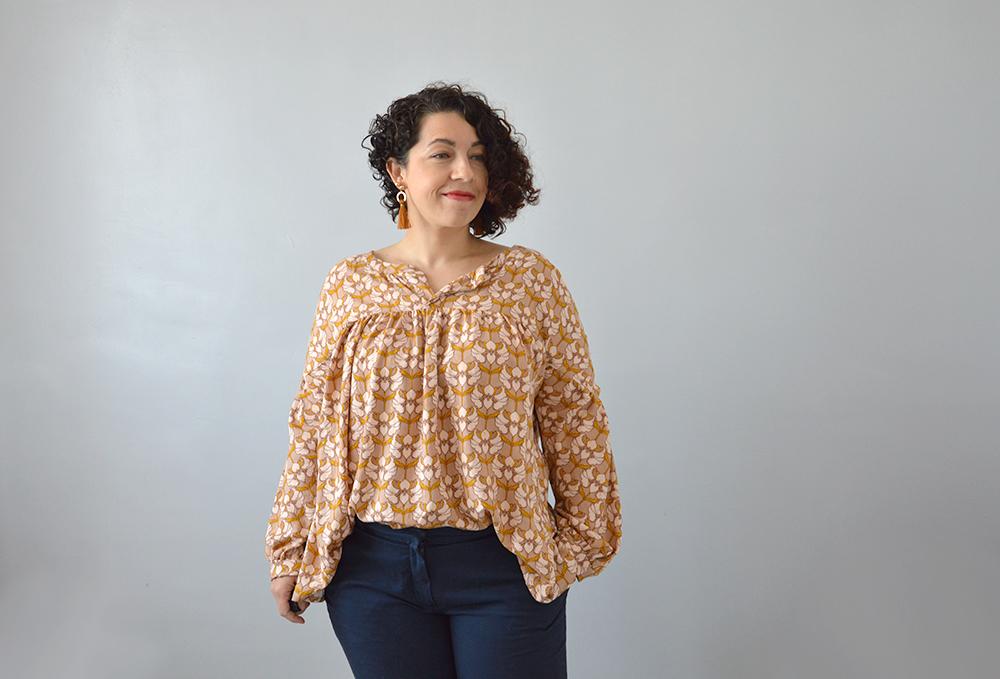couture intermédiaire blouse Camille