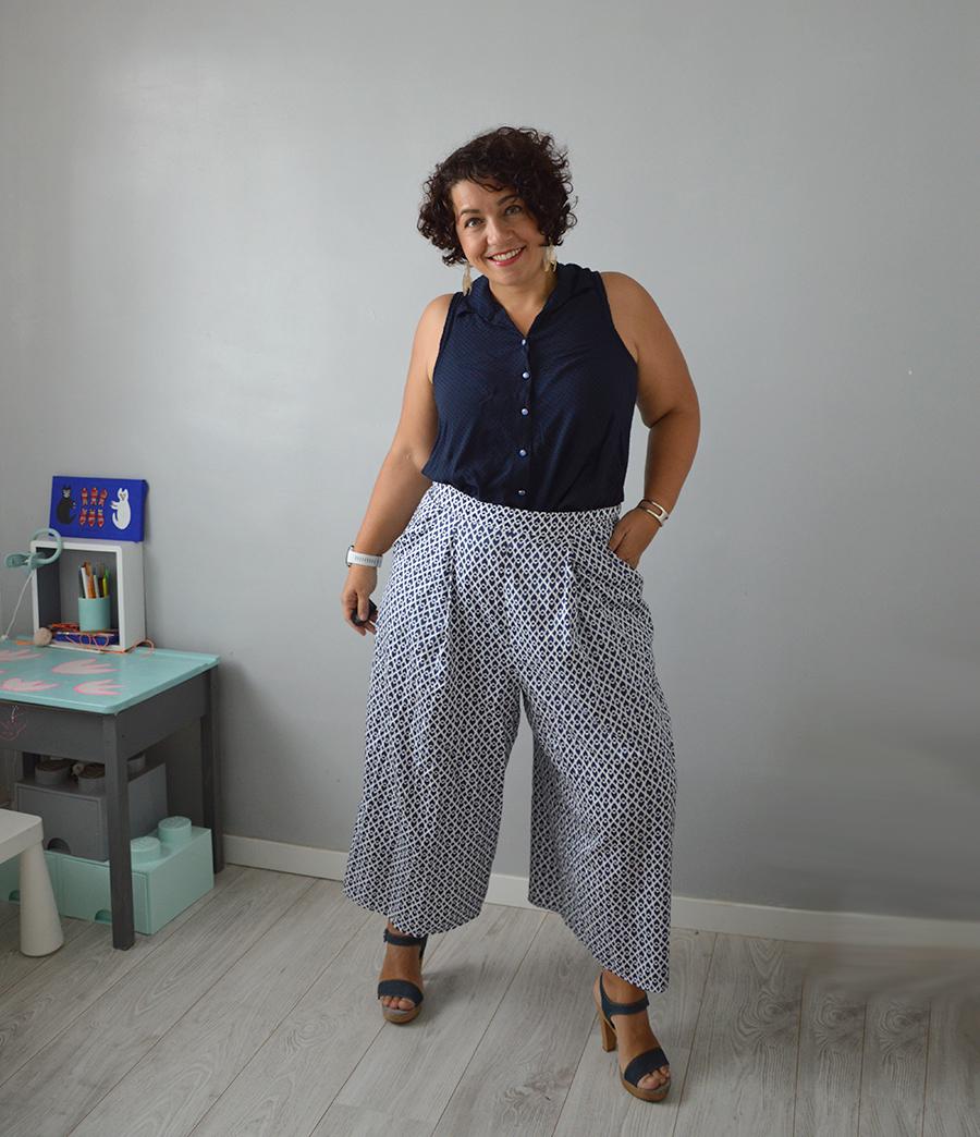 jupe-culotte Dressed tissu imprimé